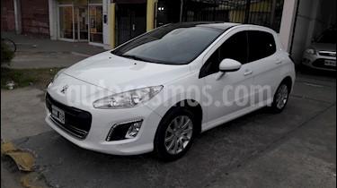 Foto venta Auto usado Peugeot 308 Allure NAV (2013) color Blanco Banquise precio $440.000