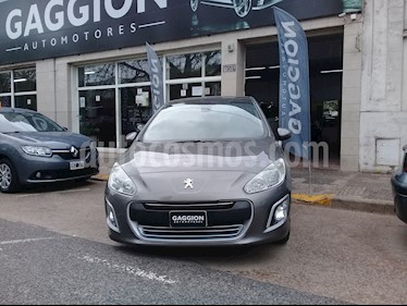 Peugeot 308 Allure NAV usado (2012) color Gris