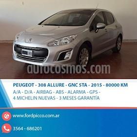 Foto venta Auto usado Peugeot 308 Allure (2015) color Gris Claro precio $475.000