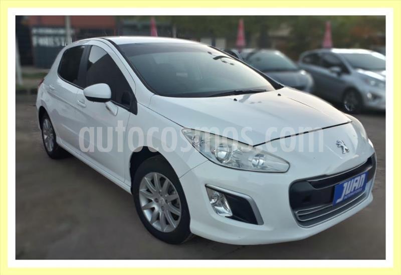 Peugeot 308 Active NAV usado (2013) color Blanco precio $715.000