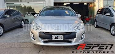 Peugeot 308 Allure usado (2015) color Gris Claro precio $565.000