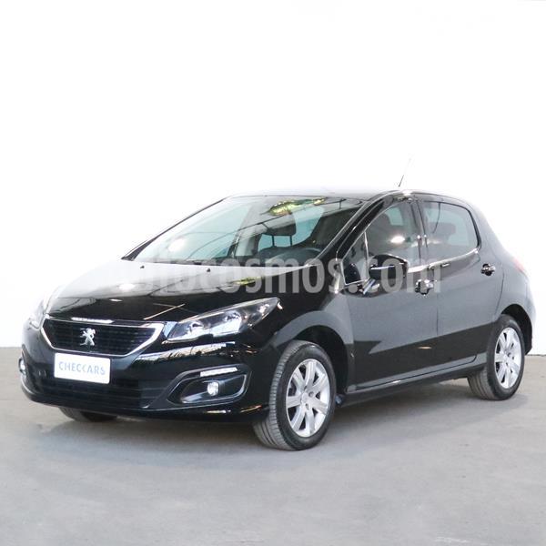 Peugeot 308 Active usado (2018) color Negro precio $1.490.000