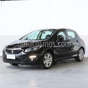 Peugeot 308 Allure Plus usado (2015) color Negro precio $635.000