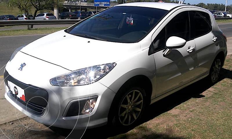 Peugeot 308 1.6 Active usado (2014) color Blanco precio $1.000.000