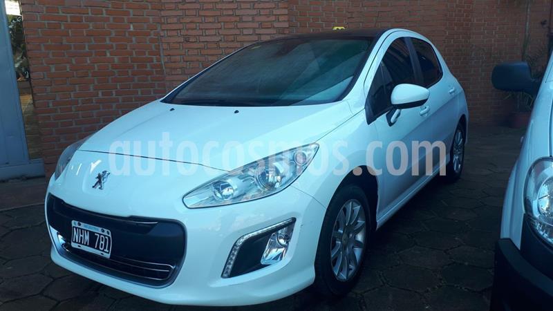 Peugeot 308 5Ptas. 1.6 16v Allure GPS (115cv) usado (2013) color Blanco precio $930.000