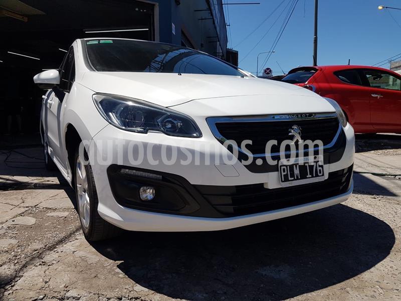Peugeot 308 Active usado (2016) color Blanco Banquise precio $1.250.000