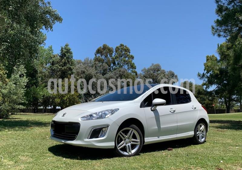 Peugeot 308 Allure HDi NAV 2014/5 usado (2014) color Blanco precio $1.120.000