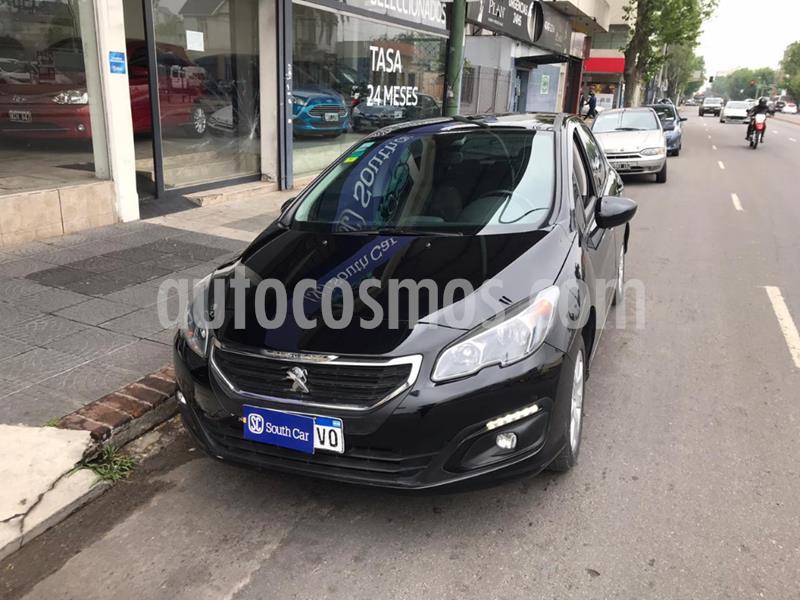 Peugeot 308 Allure HDi usado (2017) color Negro precio $910.000
