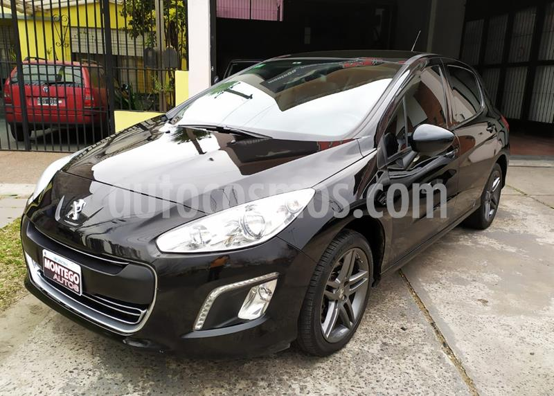 Peugeot 308 Sport usado (2014) color Negro Perla precio $950.000