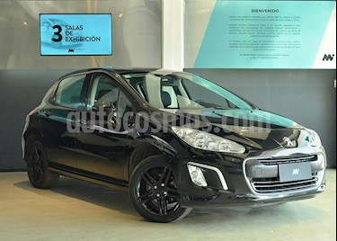 Peugeot 308 Active usado (2014) color Negro precio $472.500