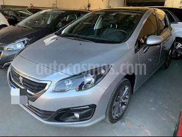 Peugeot 308 5Ptas. 1.6 HDi Feline (115cv) usado (2018) color Gris Plata  precio $1.450.000