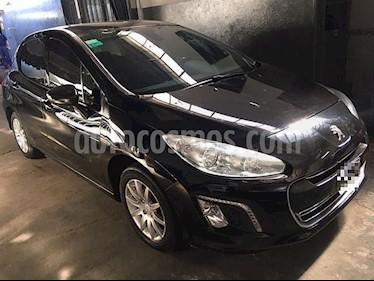 Peugeot 308 5Ptas. 1.6 16v Allure GPS (115cv) usado (2014) color Negro precio $670.000