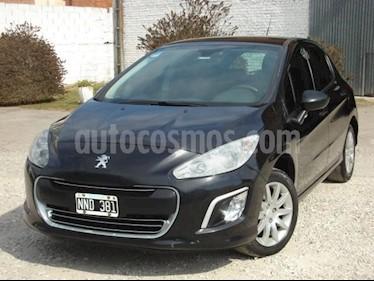 Peugeot 308 Active usado (2014) color Negro precio $340.000