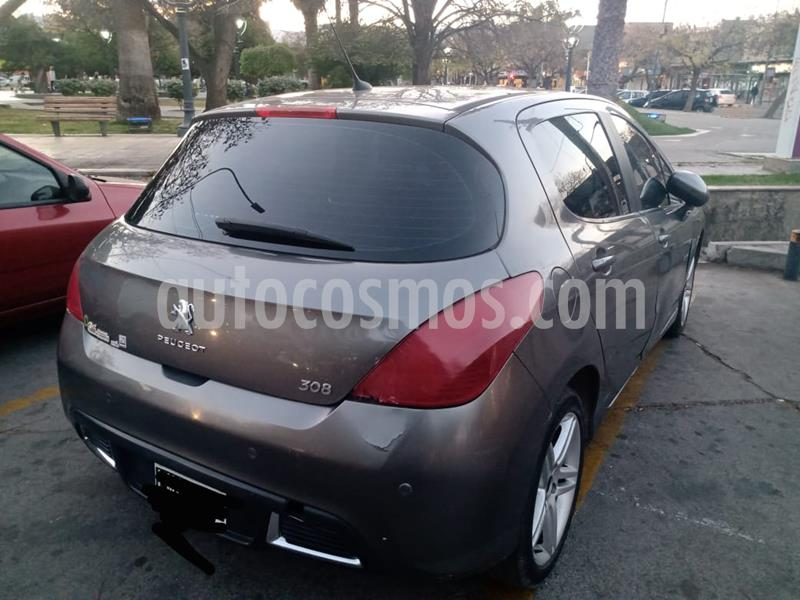Peugeot 308 Feline HDi usado (2012) color Gris Grafito precio $800.000
