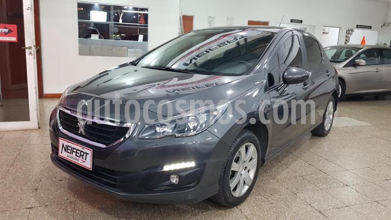 Peugeot 308 Allure usado (2015) color Gris Oscuro precio $880.000