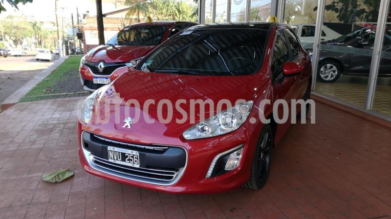 Peugeot 308 5Ptas. 1.6 HDi Feline (115cv) usado (2014) color Rojo precio $1.100.000