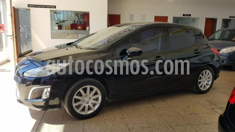 Peugeot 308 Allure usado (2013) color Negro precio $730.000