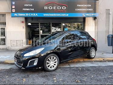Peugeot 308 - usado (2014) color Negro precio $639.900