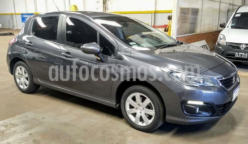 Peugeot 308 5Ptas. 1.6 16v Active (115cv) usado (2016) color Gris Oscuro precio $1.380.000
