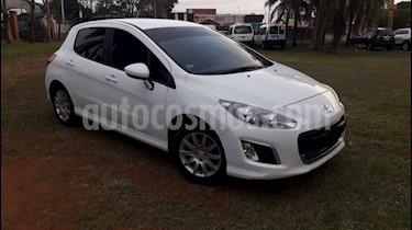 Peugeot 308 - usado (2015) color Blanco precio $595.000