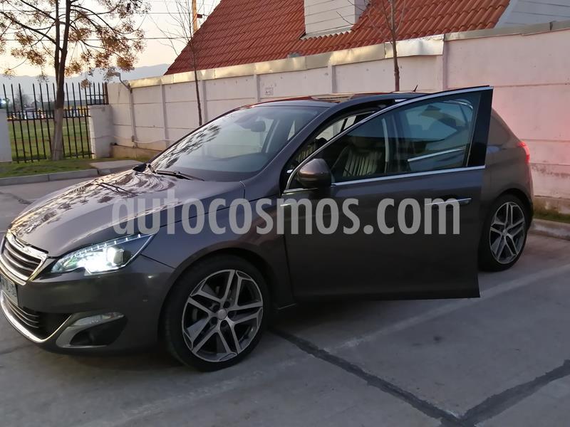 Peugeot 308 Premier 1.6L e-HDi usado (2014) color Gris Oscuro precio $9.250.000