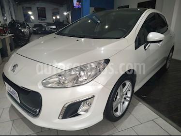 Peugeot 308 Feline HDi 2014/5 usado (2015) color Blanco Nacre precio $640.000