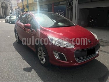 Foto venta Auto usado Peugeot 308 Feline HDi (2015) color Rojo Rubi precio $490.000