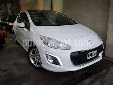 Foto venta Auto usado Peugeot 308 Feline (2012) color Blanco Banquise precio $325.000