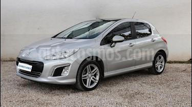 Foto venta Auto usado Peugeot 308 Feline (2015) color Gris Oscuro precio $473.000