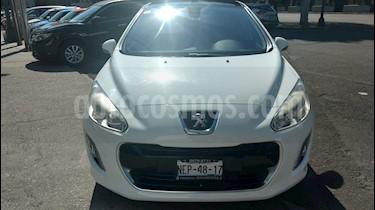 Peugeot 308 Std usado (2014) color Blanco Banquise precio $179,000