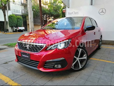 Peugeot 308 5p GT L4/1.6/T Aut usado (2019) color Rojo precio $390,000