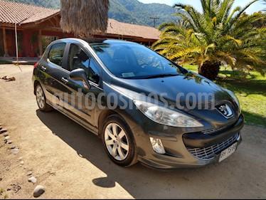 Peugeot 308 Premium 1.6L  usado (2008) color Gris Oscuro precio $4.700.000