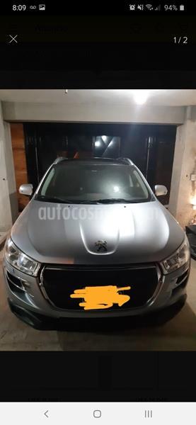 Peugeot 4008 Feline CVT usado (2014) color Gris Plata  precio u$s13.000