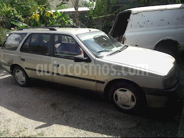 Foto venta carro Usado Peugeot 405 GR Break L4 1.9 (1989) color Beige
