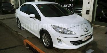 Foto venta Auto usado Peugeot 408 Allure NAV 2014/15 (2012) color Blanco precio $190.000