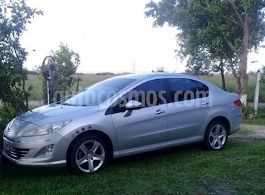 Foto venta Auto Usado Peugeot 408 Allure+ NAV (2013) color Gris Grafito