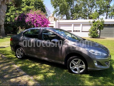 Foto venta Auto Usado Peugeot 408 Allure+ NAV (2013) color Gris Grafito precio $355.000