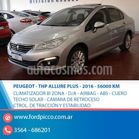 Foto venta Auto usado Peugeot 408 Allure Plus THP (2016) color Gris Claro precio $645.000