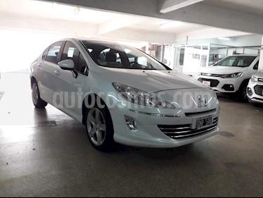 Foto venta Auto usado Peugeot 408 Allure+ (2015) color Blanco Banquise precio $176.000