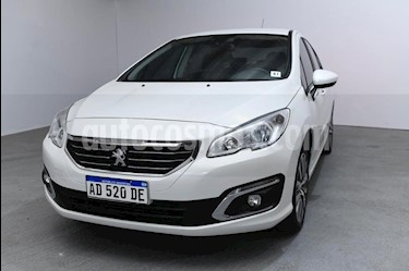 Peugeot 408 Allure Plus 1.6 THP usado (2019) color Blanco precio $1.095.000