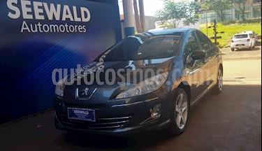 Peugeot 408 - usado (2013) color Gris precio $625.000