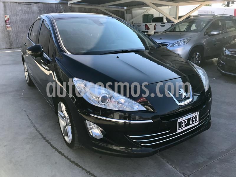 Peugeot 408 Active usado (2012) color Negro precio $990.000