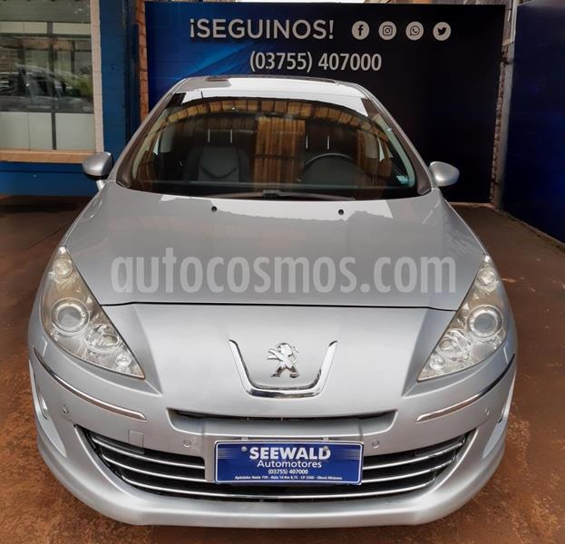 Peugeot 408 Feline 2.0N MT (143cv) 4Ptas. usado (2012) color Gris Plata  precio $680.000