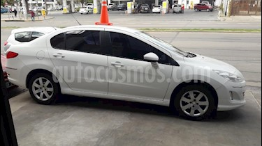 Peugeot 408 Allure 2014/15 usado (2012) color Blanco precio $440.000
