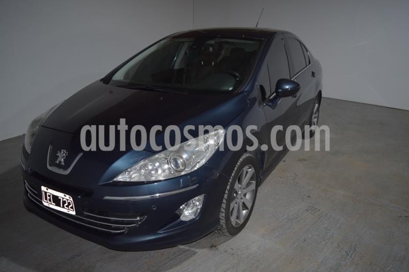 Peugeot 408 Feline 2014/15 usado (2012) color Azul precio $980.000