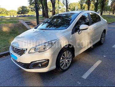 Peugeot 408 Allure Plus 1.6 THP usado (2018) color Blanco Banquise precio $1.050.000