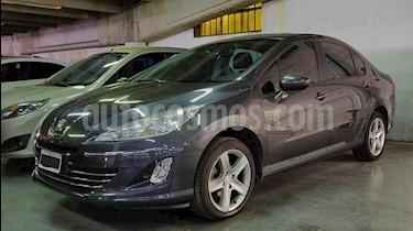 Peugeot 408 Allure NAV 2014/15 usado (2013) color Gris Oscuro precio $440.000