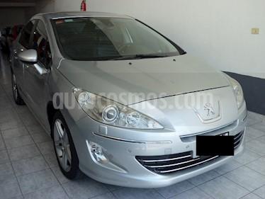 Peugeot 408 Sport 1.6 THP Turbo Tiptronic (163cv) 4Ptas. usado (2012) color Gris precio $579.900