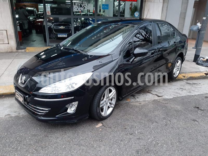 Peugeot 408 Allure  + 2.0N MT (143cv) 4Ptas. usado (2012) color Negro precio $569.900