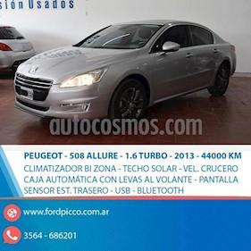 Foto venta Auto usado Peugeot 508 Feline 1.6 THP (2014) color Gris Claro precio $540.000
